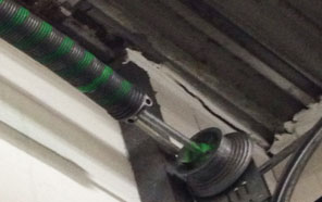 Broken Torsion spring garage door Newport
